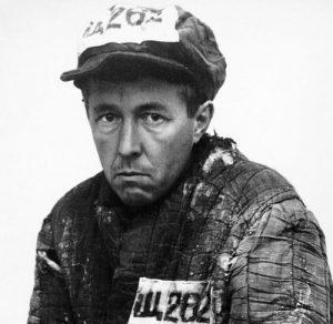 Aleksandr Solzhenitsyn from his time in the gulag